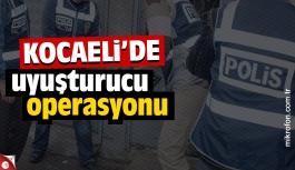 Kocaeli'de 2 kilo esrar 2 kilo eroin yakalandı