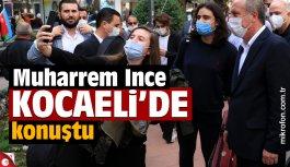 Eski CHP Milletvekili Muharrem İnce, Kocaeli'de...