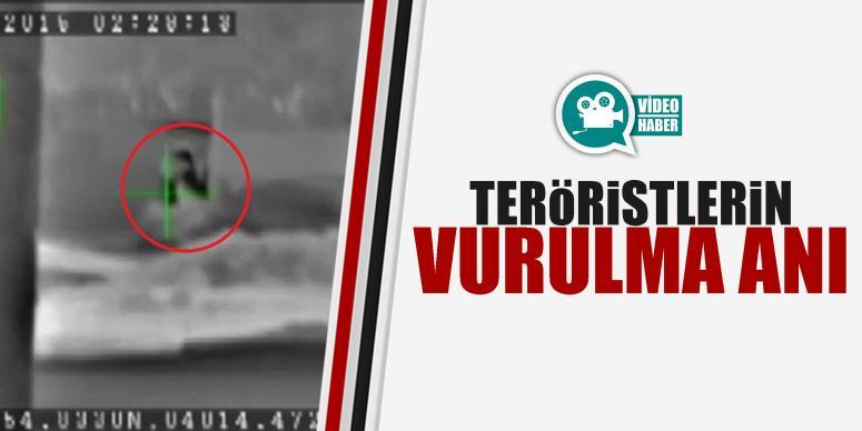 Teröristler böyle vuruldu!
