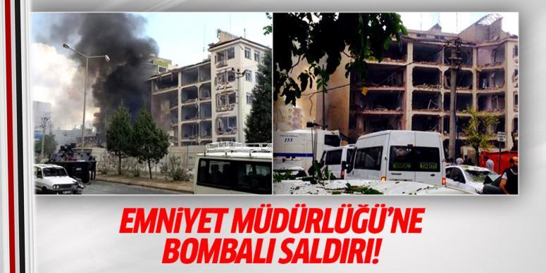 Emniyet müdürlüğüne bombalı saldırı