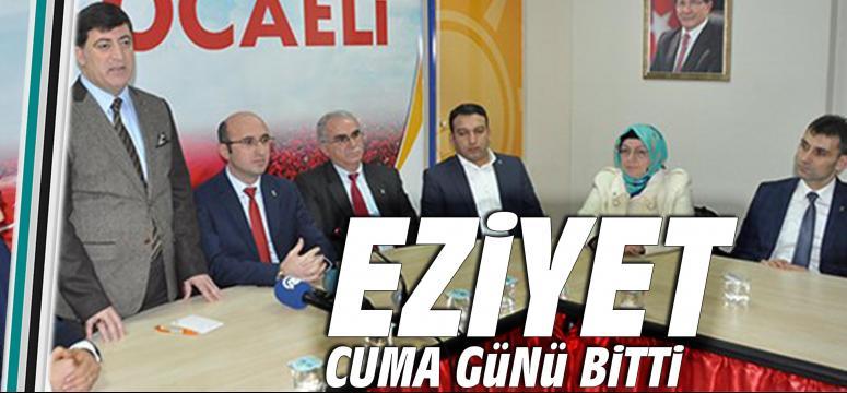 Diyarbakırlı AK Partililer Kocaeli il binasına geldi