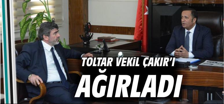 Başkan Toltar Vekil Çakır'ı Ağırladı