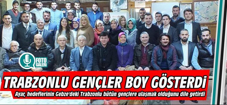 Trabzonlu gençler boy gösterdi