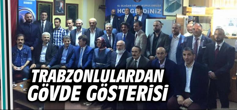 Trabzonlulardan gövde gösterisi