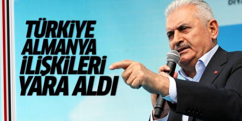 Binali Yıldırım: Türkiye-Almanya ilişkileri yara almıştır