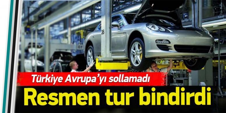 Türkiye resmen Avrupa'ya tur bindirdi