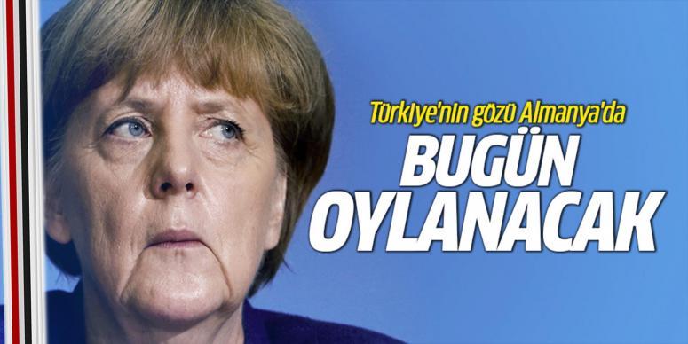 Türkiye'nin gözü bugün Almanya'da
