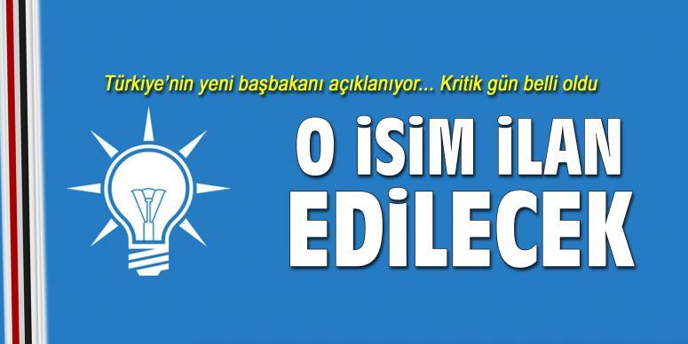 Türkiye'nin yeni başbakanı açıklanıyor