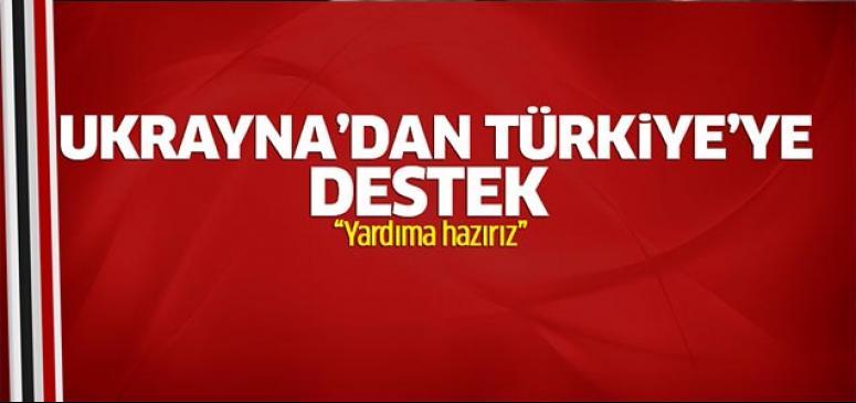 Türkiye'ye yardıma hazırız