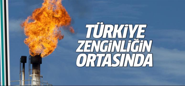 Türkiye zenginliğin ortasında