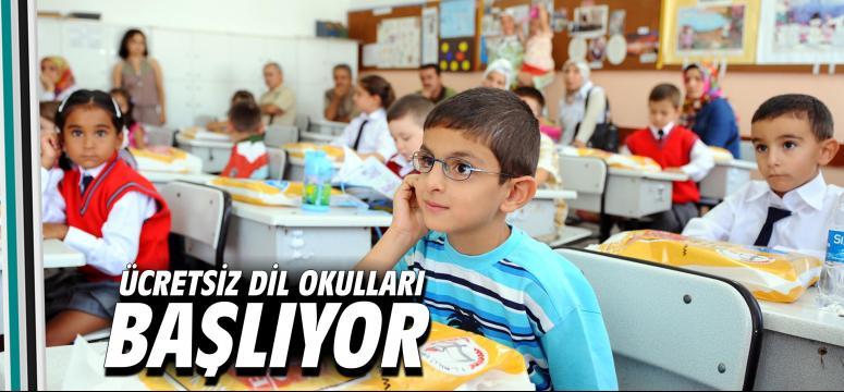 Ücretsiz dil okulları başlıyor