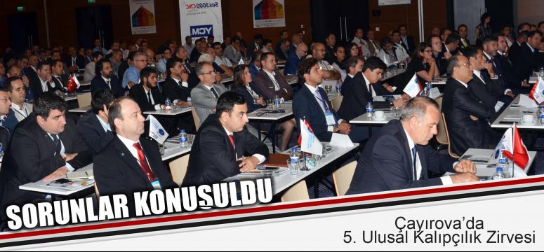 Çayırova'da 5. Ulusal Kalıpçılık Zirvesi'nde