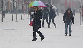 Meteoroloji saat verdi! Yoğun kar yağışı geliyor