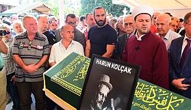 Harun Kolçak'ın cenazesine saygısızlık!