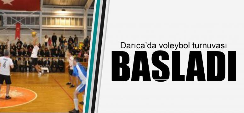 Darıca'da voleybol turnuvası başladı