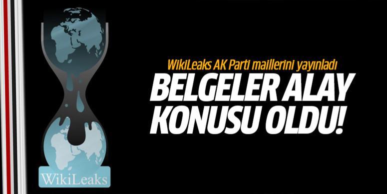 WikiLeaks AK Parti maillerini yayınladı!