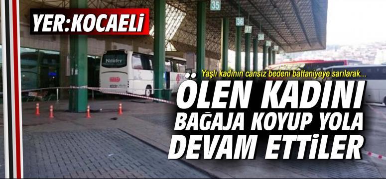 Yolcu Otobüsünde Şoke Eden Ölüm