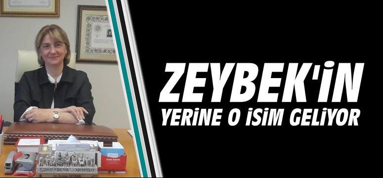 ZEYBEK'İN YERİNE O İSİM GELİYOR